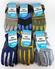 3 PACK LOT MEN'S LARGE SKI GLOVE OUTDOOR COLD WEATHER WINTER SNOW MENS
