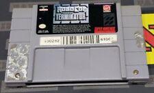 Super Nintendo SNES Video Game: Robocop vs The Terminator