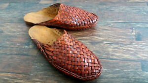 USA 6-10 WOMEN'S VINTAGE LOOK BOLLYWOOD HANDMADE LEATHER SANDAL FLIP FLOP GIFT