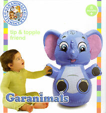 Garanimals Tip and Topple Friend Inflatable Baby Elephant - New