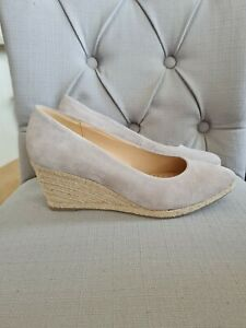 Gabor Wedge Shoes New Suede