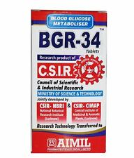 Aimil BGR-34 Tablets Converts Proinsulin to Insulin & Improves Glucose Tolerance