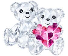 SWAROVSKI-KRIS Bears in love-Nuovo con Scatola