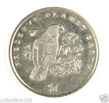 New listing Liberia Commemorative Coin $1 1996 Unc - Preserve Planet Earth, Grey Parrot