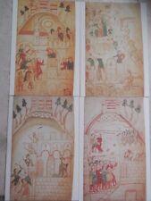 Cartoline EMISSIONE FRANCOBOLLO Castello Longobardo di Salerno Pietro da Eboli