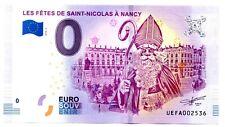 Billet Touristique - 0 Euro - France - Nancy - Les fêtes de St-Nicolas (2018-2)