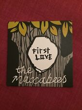 RARE - The Maccabees - First Love - Promo CD Single