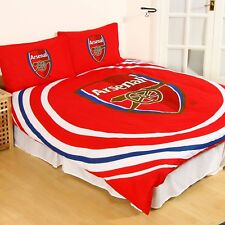 Arsenal F.C. Kids Gift 'Pulse' Reversible Double Duvet Quilt Cover Set
