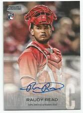 2018 TOPPS STADIUM RAUDY READ ON CARD AUTOGRAPH RC #SCA-RR