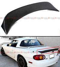 For 99-05 Mazda Miata NB 2nd Gen JDM Carbon Fiber High Kick Trunk Spoiler Wing