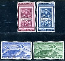 VATIKAN 1951 185-186, 161-162 ** POSTFRISCH TADELLOS FLUGPOST 580€(S2906
