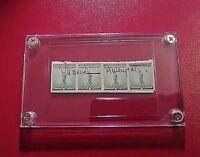 MARCIA DAVENPORT Signed signature on 1 cent US Postal Stamps autograph (Author)