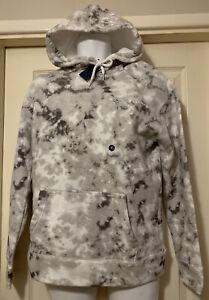 Men's Hollister Grey Tie-Dye Pull Over Hoodie Sweater Small, Medium, Large BNWT