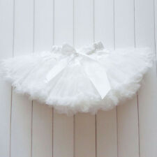 Baby Kids Girls Dancewear Cute Chiffon Tutu Full Pettiskirt Princess Skirts 1-7Y
