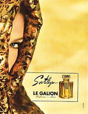 Publicité advertising  1967   Sortilège parfum Le Galion