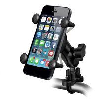 RAM-B-149ZA-UN7-KT U-Bolt Handlebar Mount & X-Grip Smart Phone & Sat Nav Holder