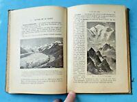 Histoire de la Terre phénomène actuel 1903 géologie Roche Atmosphère végétale
