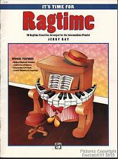 1994 Jerry Ray Ragtime Sheet Music Book (It's Time For Ragtime)