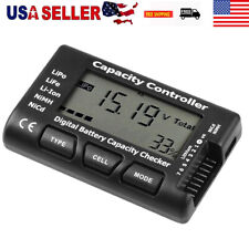 Digital Battery Capacity Tester Voltage Controller Tester w/ LCD for LiPo NiMH