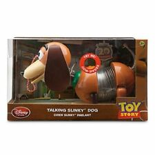 "Disney Store Talking Slinky Dog Action Figure Toy Story Pixar 11"" L NIB"