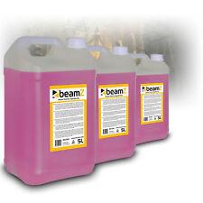 Beamz Smoke Machine Fluid Quality 15 Litre Pink Liquid Halloween Theme Party
