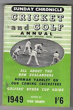 Sunday Chronicle - Cricket And Golf Annual 1949