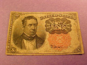 1874 10 Cent Fractional Currency