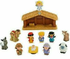 Fisher Price Little People Nativity Set Christmas Play Set