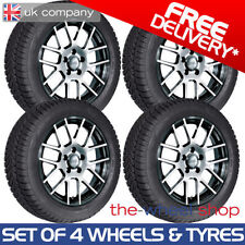 Golf Aluminium Wheels with Tyres