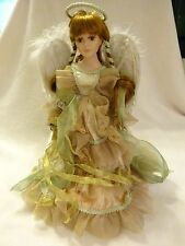 Vintage Collectors Choice Angel Doll Bisque Porcelain Limited Holiday Edition