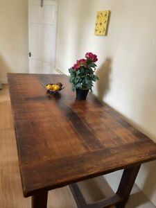 Beautiful solid oak dining table and 10 chairs RRP £1,200.00