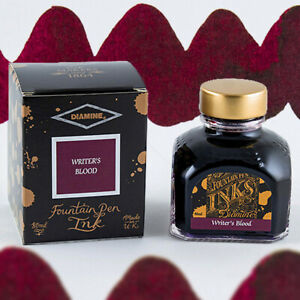 Diamine 80ml Bottled Ink - Special Edition - Writer's Blood