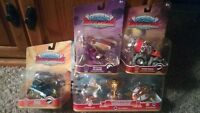 Skylanders Superchargers Bundle! Racing Sky pack + Earth, Magic & Tech Vehicles