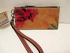 New ListingPatricia Nash Almeria Veg Tan Floral Leather Credit Card Wallet