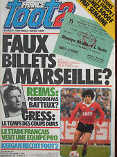 France Foot2 N°36 (1er déc 1978) Faux billets à Marseille - Reims - Keegan