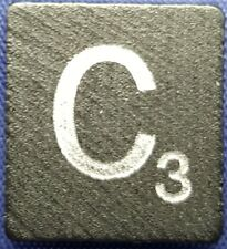 Single Scrabble Diamond Anniversary Wood Letter C Tile Replacement Game Part