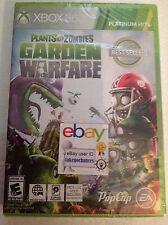 Plants versus vs. Zombies: Garden Warfare GW XBOX 360 Brand New Factory Sealed