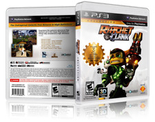 Ratchet and Clank Collection - Custom PS3 Cover and Case. NO GAME!!