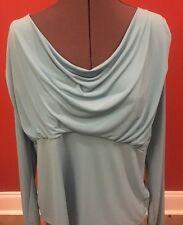 Lady's Norton McNaugton Woman Blue Long Sleeved Blouse Size 1X