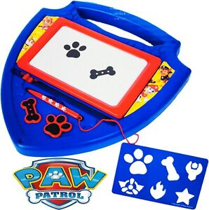 Paw Patrol Magnetic Scribbler & Stencil Kids Creative Activities / Toys