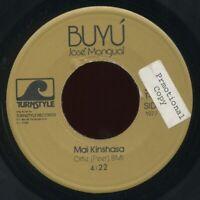 "afro cuban jazz-funk disco 7"" JOSE MANGUAL Black & Brown Boogie ♫ Mp3 Turnstyle"