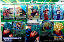 Dragon Ball Super TCG DBS-BE01 Expansion Deck Box Mighty Heroes Sealed SET 1