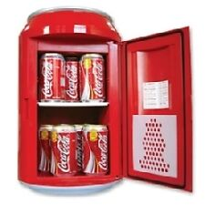 PORTABLE MINI FRIDGE REFRIGERATOR HOME OFFICE CAN SHAPE COOLER WARMER FOOD DRINK