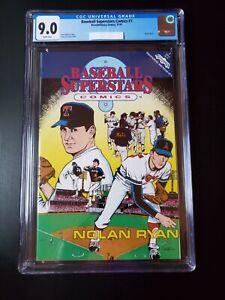 1991 Baseball Superstars Comic Book #1 CGC Nolan Ryan MLB