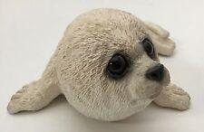 1988 Animal Classics Harp Seal Stone Sculpture Figurine United Design