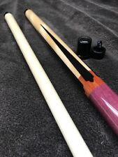 Joss Sneaky Pete Hustler Upgraded G2 Tip Joint Caps Maple Purple Heart Ebony Pts
