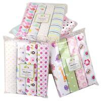 Cotton Baby Blanket Newborn Swaddles Bed Sheet Baby Crib Bedding Sets 4pcs/lot