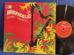 JONNY TEUPEN HARPADELIC BASF CRM 709 ORIGINAL GERMANY LP EXC+