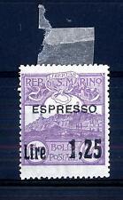 SAN MARINO - Espressi - 1926 - Espresso del 1923 sovrastampato con nuovo valore
