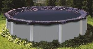 Bache couverture de piscine hors sol hiver hivernage pour bassin de 5,50 m